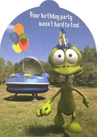 6164 - $3.49 Retail Each - Humorous Birthday Greeting Cards PKD 6