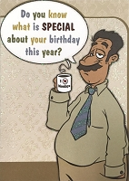 6165 - $3.49 Retail Each - Humorous Birthday Greeting Cards PKD 6