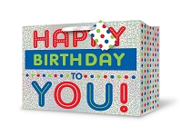 PGB017- Premium Horizontal Medium Birthday Gift Bag packed 12
