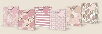 PR1025 - At First Blush Gift Bags Large - 72 in assortment - 12 each of 6 designs