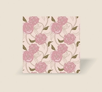 RW1062 - At First Blush Roll Wrap Pink Floral pkd 10