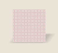 RW1063 - $3.99 Retail each, At First Blush Roll Wrap Pink Mosaic pkd 10