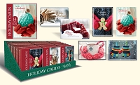 CBC03 - Pre-Ordered Christmas Boxed Cards - Holiday Cheer - Retail $6.99 per box - 14 cards per box - 36 boxes per unit - Discounted 20%