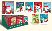 CBC04 - Pre-Ordered Christmas Boxed Cards - Winter Wonderland - Retail $6.99 per box - 14 cards per box - 36 boxes per unit - Discounted 20%