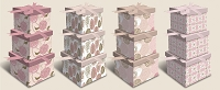 BX006 - At First Blush 3-piece Set Nesting Boxes - 12 of each color - 36 boxes in total -  NEW!