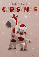 Christ024  - Assortment of 24 designs of Premium Christmas Greeting Cards  packed in 6's