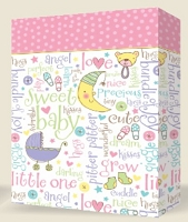 SB101 - Colossal Premium Baby Gift Bag packed 12