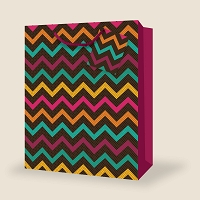 SB107 - Extra Jumbo Abstract Gift Bag packed 12