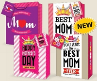 GBLGMD01 - Mother's Day Large Gift Bag Assort - discounted- 48 total