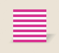 RW1037 - $3.99 Hot Pink Stripe Roll Wrap packed in 10's