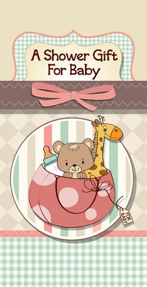 01683 - $2.80 Retail Each - Money Holder Greeting Cards Baby Shower PKD 6