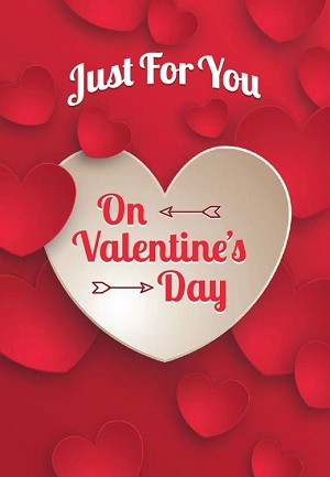 val11077 - $2.80 Retail Each - Valentine's Day General Greeting Cards - English Language - wholesale units of 6 cards