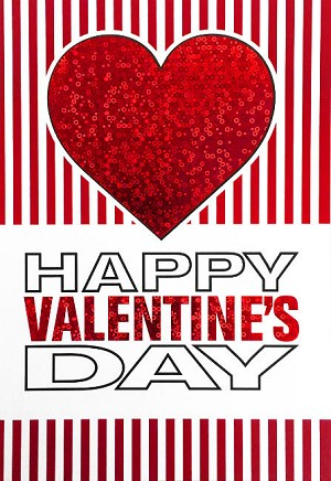 val11003 - $3.99 Retail Each - Valentine General Greeting Cards - English Language - wholesale units of 3 cards