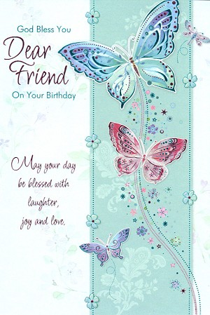1303 - $3.99 Retail Each - Birthday Friend Religious PKD 6