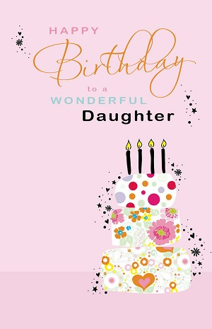 2503 - $3.25 Retail Each - Birthday Daughter PKD 6