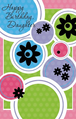 2509 - $3.25 Retail Each - Birthday Daughter PKD 6