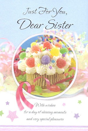 2710 - $3.99 Retail Each - Birthday Sister PKD 6