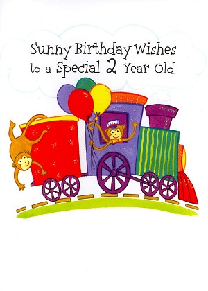 3504 - $2.50 Retail Each - Birthday By Age 2nd PKD 6