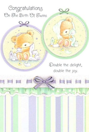 3607 - $3.49 Retail Each - Baby Twins PKD 6