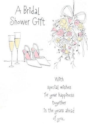 4073 399 retail each bridal shower pkd 6