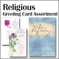 5112 - 84 Pocket Christian Everyday Assortment pkd 6, discounted extra 20% at check-out