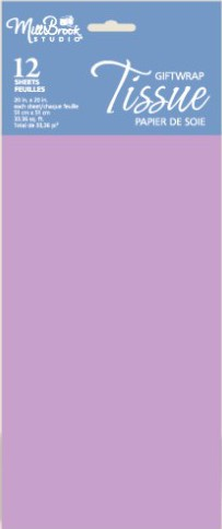6692 - $1.99 Retail Each - Lavender Tissue PKD 12