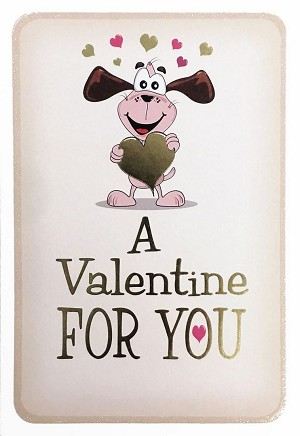 7064 - $3.99 Retail Each - Valentine Love Greeting Cards - English Language PKD 3