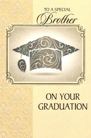 7263 - $3.99 Retail Each - Graduation Brother PKD 3