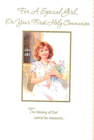 7302 - $3.99 Retail Each - Communion Girl PKD 6