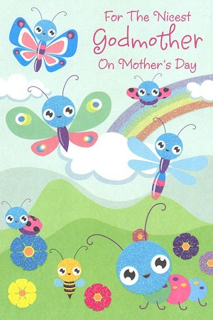 8023 - $3.49 Retail Each - Mothers Day Godmother Religious PKD 3