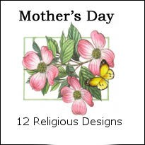 Wholesale mothers day greeting card assortments 8251a 12 designs of premium religious mothers day cards pkd in 3s with extra m4hsunfo