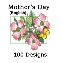 8255 - 100 design Premium Mother's Day Assort pkd 3's -extra 20% discount. - Larger Assortments available on request