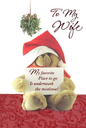 9578 - $3.49 Retail Each - Christmas Wife Greeting Cards PKD 6