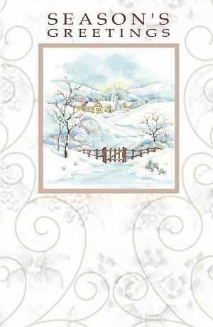 9618 - $3.25 Retail Each - Season's Greetings Greeting Cards PKD 6