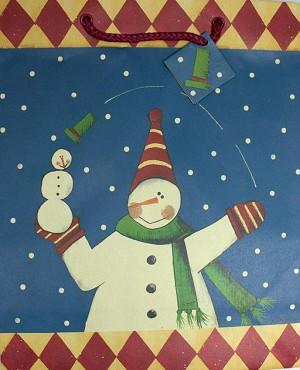 9879CA - $4.69 Retail Each - Christmas Large Giftbags - ON SALE Pkd 12 (American Greetings Brand)