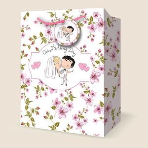 Vj1019 Jumbo Wedding Gift Bags Pkd 12s