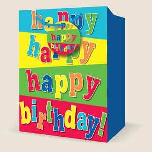 Wholesale Large Birthday Gift Bags